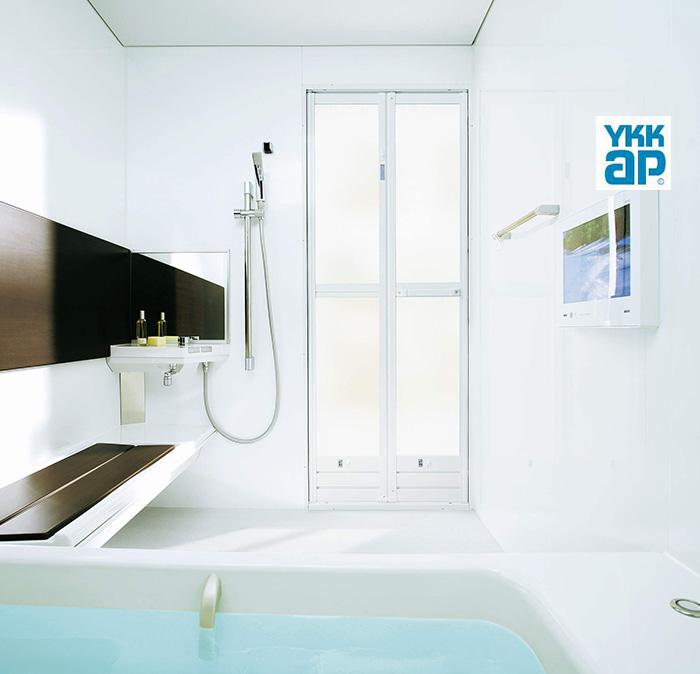 浴室折り戸取替